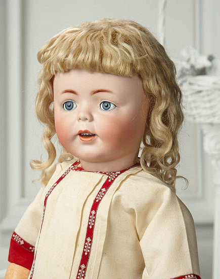 "German Bisque Toddler ""Erika"" by Simon and Halbig in Very Rare Size 3000/4000"