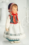 German Cloth Character in Original