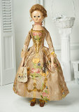Outstanding 18th Century English Wooden Doll