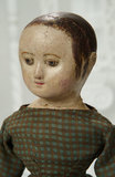 American Cloth Doll by Izannah Walker with Ringlet Curls and Rare Painted Shoes 11,000/14,000
