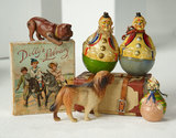 Collection of Miniature Antique Toys 700/900