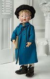 German Bisque Glass-Eyed Character,Kammer and Reinhardt,