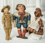 American Cloth Doll of Young Boy by Art Fabric 400/500