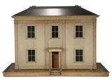 English Wooden Dollhouse in Fine Original State 8000/12,000