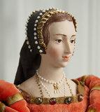 American Sculpted Porcelain Portrait of Anne Boleyn by Martha Thompson 1100/1400