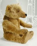 Early Grand-Sized German Mohair Teddy by Wilhelm Strunz 1200/1800