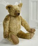 Grand English Blonde Mohair Teddy Bear by Farnell 800/1200