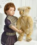 American Wooden Character Doll, Model 312, by Schoenhut 500/700