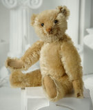 Early German Mohair Teddy by Steiff with Blank Button in Ear 700/900