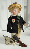 German Bisque Character, DIP, by Swaine and Co. 500/800