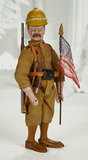 American Wooden Teddy Roosevelt from Teddy's Adventures in Africa Series 1400/1800