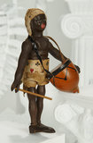 American Wooden African Drummer from Teddy's Adventures in Africa Series 2000/3000