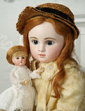 Grand-Sized French Bisque Bebe Steiner, Series C, with Signed Steiner Eyes 9000/12,000