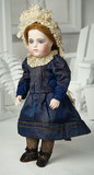 French Bisque Bebe Brevete by Leon Casimir Bru with Original Body 8000/12,000