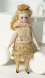 French All-Bisque Mignonette with Painted Yellow Stockings 700/900