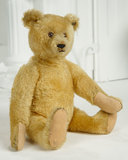 German Golden Mohair Teddy by Steiff with Button in Ear 400/600