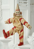 American Wooden Clown by Schoenhut with Rare Big Ears 400/500