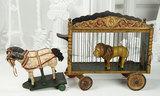 American Wooden Wild Animal Parade Cage by Schoenhut 3500/5500