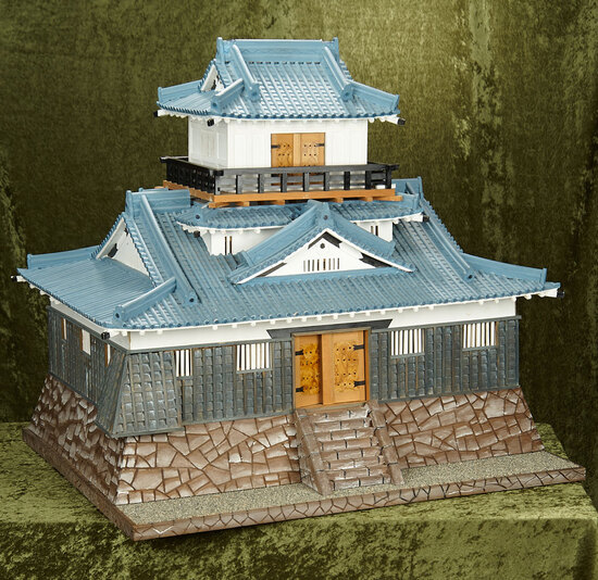 Artist-Made Japanese Miniature Castle Commissioned by Huguette Clark $1100/1700