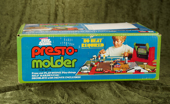 Playstone Presto-Molder Cars and Trucks by Kenner in sealed original box $100/150