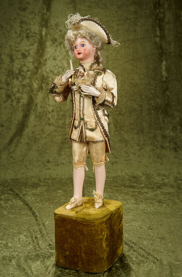 "French musical automaton ""Marquis"" by Leopold Lambert $3000/4000"
