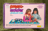 Playstone Presto-Molder Jewelry Fun by Kenner in sealed original box $100/150