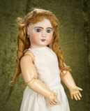 French bisque Bebe Jumeau, size 12, with original signed Jumeau body.   $1200/1500