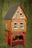 French miniature Boulangerie shops, Catherine Riffault, commissioned from Au Nain Bleu $300/500