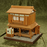 Japanese artisan made miniature wooden house with movable panels  $200/400