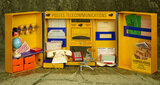 French Toy Post Office with wonderful accessories from Au Nain Bleu $500/800