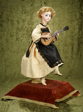 French bisque musical automaton