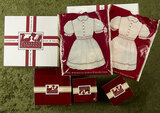 Lot of accessories and costumes for Molly, an American Girl doll from Pleasant Co, mint $200/400