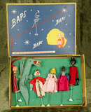German cloth puppets by BAPS in early BAPS box $200/300