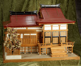 Superb Japanese miniature house with elaborate details $700/1100