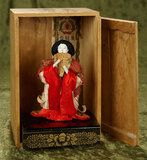 Japanese hina in original costume with original labeled box $200/300