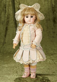 French bisque bebe by Emile Jumeau, early premiere model, size 7.  $2500/3200