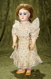 French bisque bebe by Emile Jumeau, size 11, original body and original Jumeau chemise $2800/3200