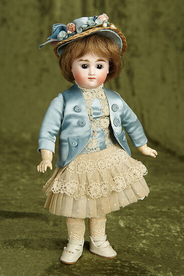 """11"""" German bisque closed mouth doll by Kestner. $800/1100"""