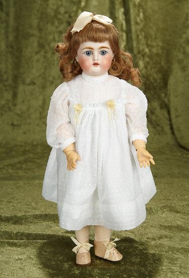 "16"" German bisque child, 192, by Kammer and Reinhardt, rare model to find. $400/500"
