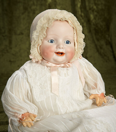 """22"""" German Bisque Character """"Bonnie Babe"""" Designed by Georgene Averill. $400/500"""