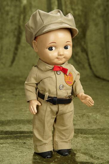 """13"""" American Buddy Lee with original Lee uniform for MM. $200/300"""
