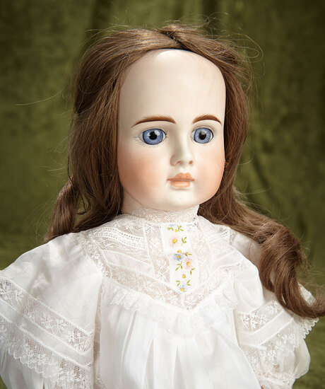 "23"" Sonneberg bisque child doll, model 183, by mystery maker, in the French mode. $800/1100"