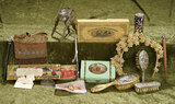 Wonderful lot of miniatures and accessories for dolls. $300/400