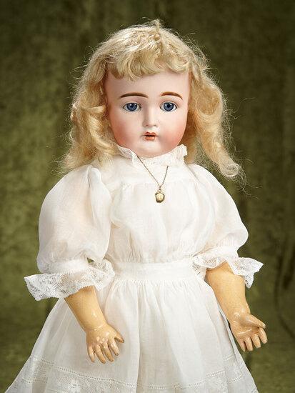 """20"""" German bisque child, model 192, Kammer and Reinhardt, original body, body finish. $500/700"""