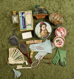 Lot of accessories for French poupees or small bebes. $400/600