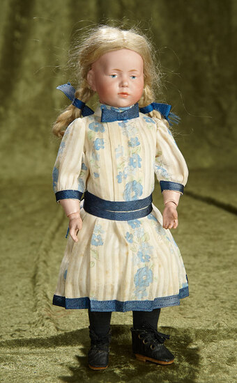 "12"" German bisque art character ""Marie"", model 101, by Kammer and Reinhardt. $1100/1300"