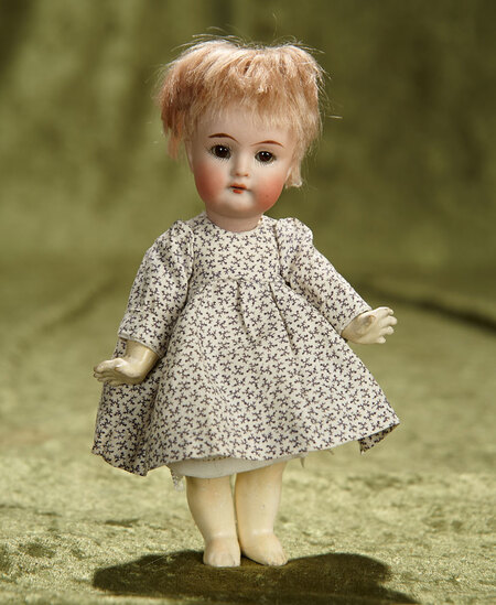 Petite German bisque toddler, 126, by Kammer and Reinhardt. $300/500