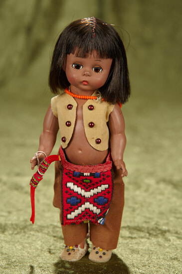 "8"" ""Indian Boy"" from Americana series by Alexander. $200/300"