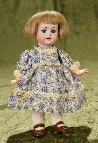 """9"""" Charming German bisque character, 678, by Bahr and Proschild with toddler body. $500/700"""