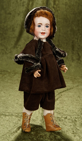 """16"""" French bisque toddler, model 236, by SFBJ with toddler body. $600/800"""